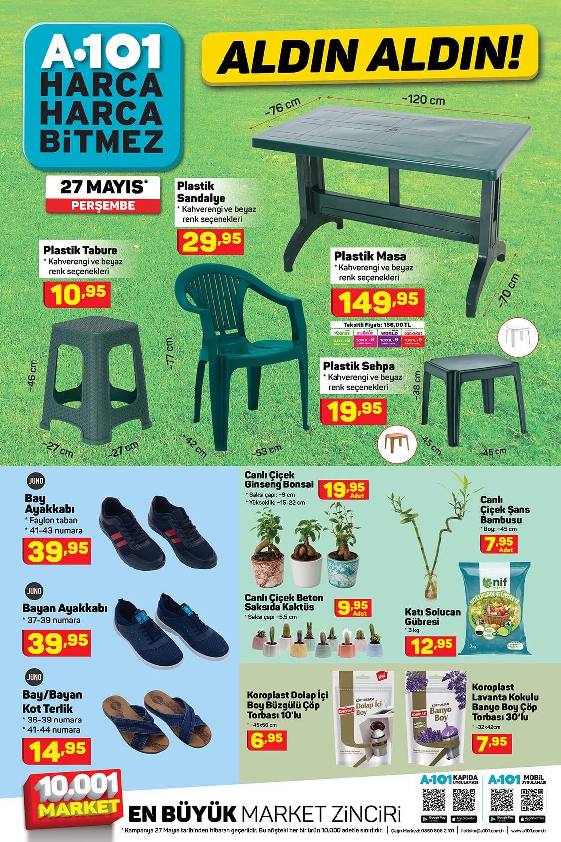A101 27 Mayıs Perşembe Aktüel Ürün Kataloğu 5. Bölüm
