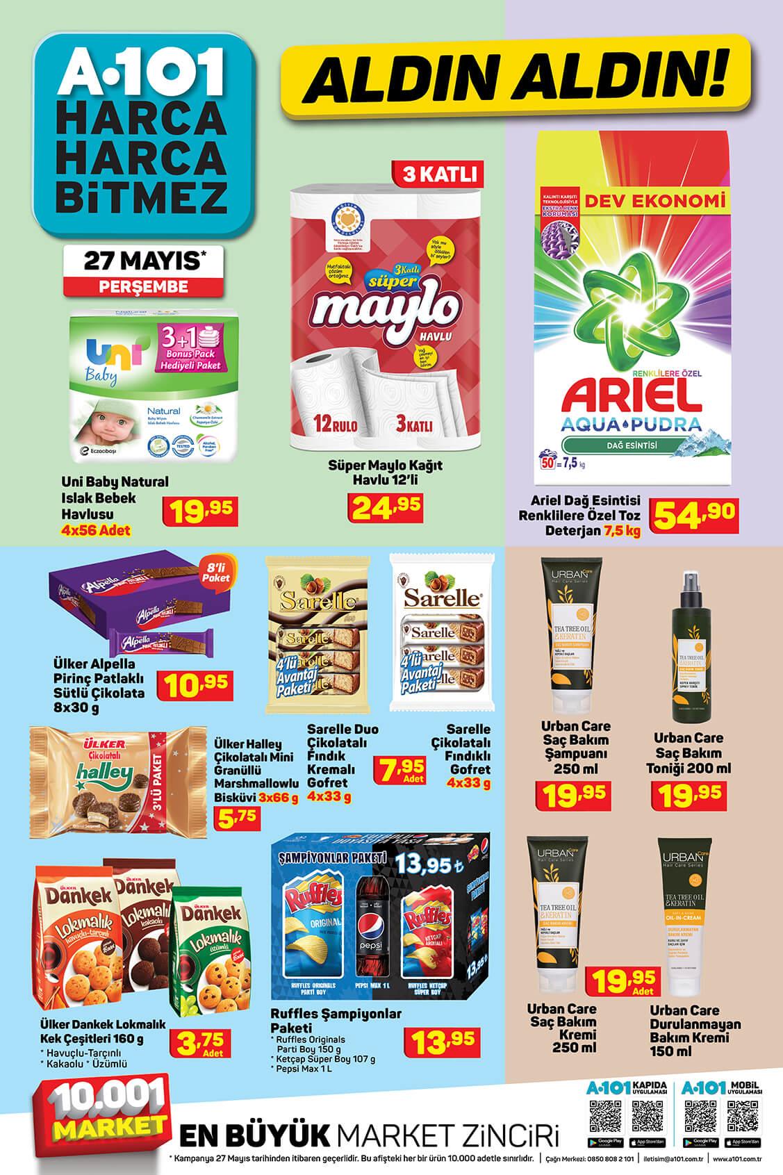 A101 27 Mayıs Perşembe Aktüel Ürün Kataloğu 10. Bölüm