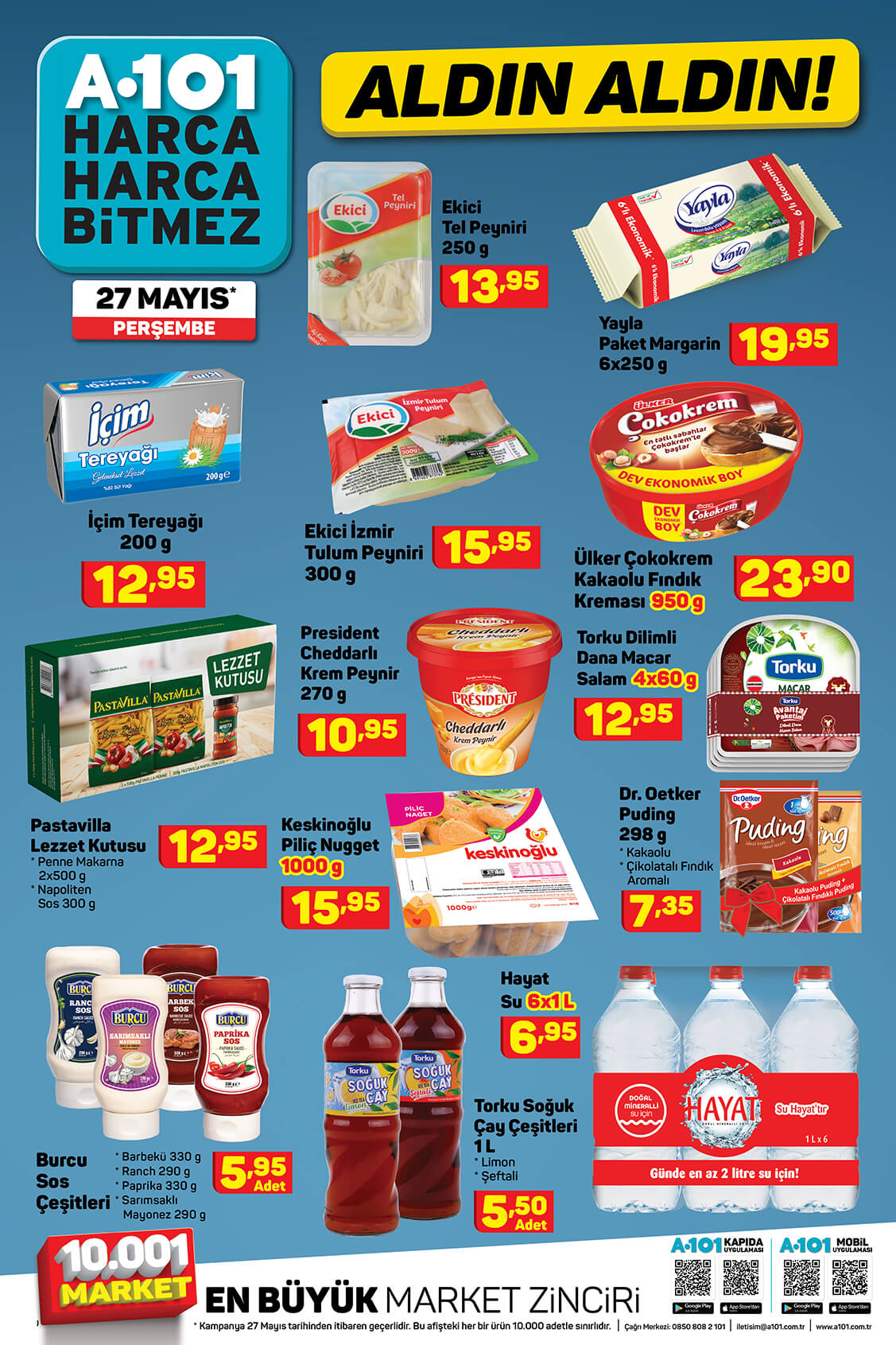 A101 27 Mayıs Perşembe Aktüel Ürün Kataloğu 11. Bölüm