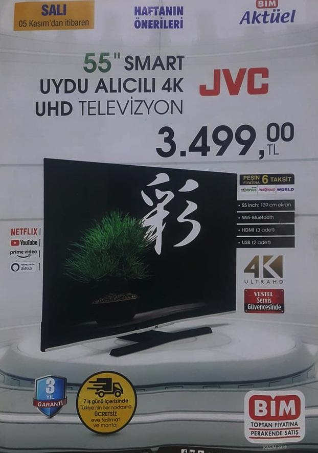 bim aktuel jvc smart led tv