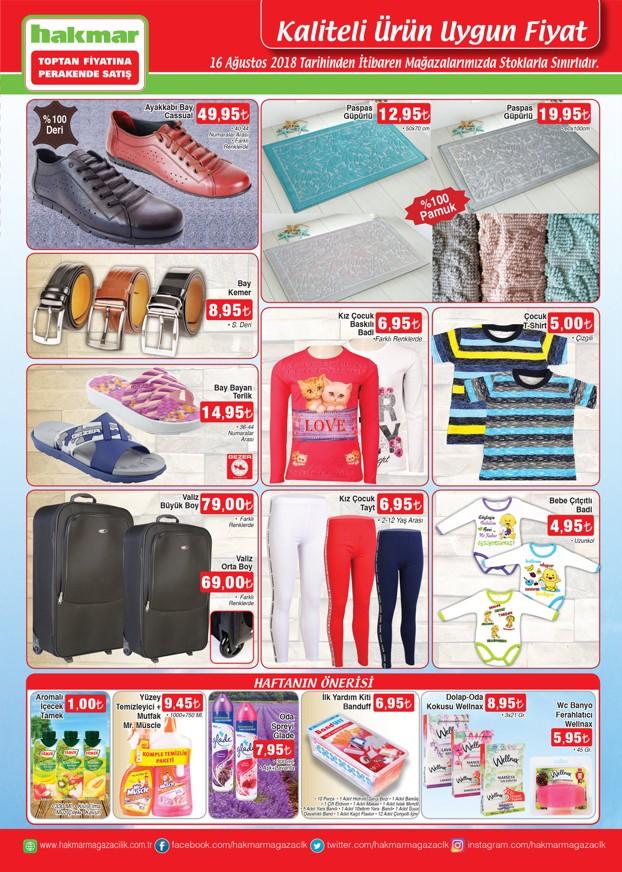 16 agustos 2018 hakmar tekstil urunleri katalogu
