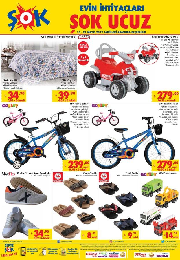 sok market 15 mayis 2019 aktuel katalogu akulu araba