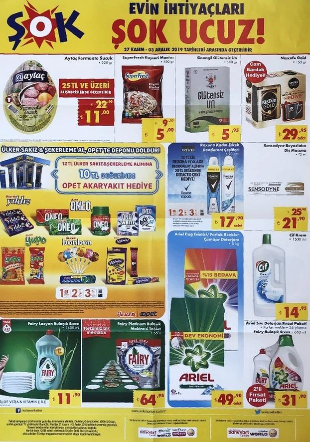 27 kasim sok katalogu indirim kampanya